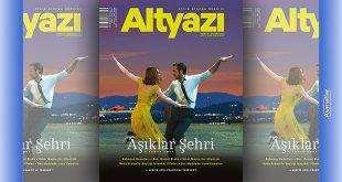 """""""Altyazı Sinema Dergisi"""" Aralık 2016 Sayısı"""