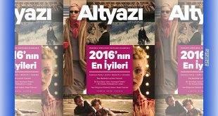 """""""Altyazı Sinema Dergisi"""" Ocak 2017 Sayısı"""