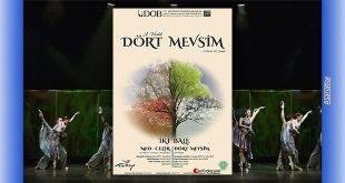 """""""Dört Mevsim İki Bale"""" Antalya DOB'da"""