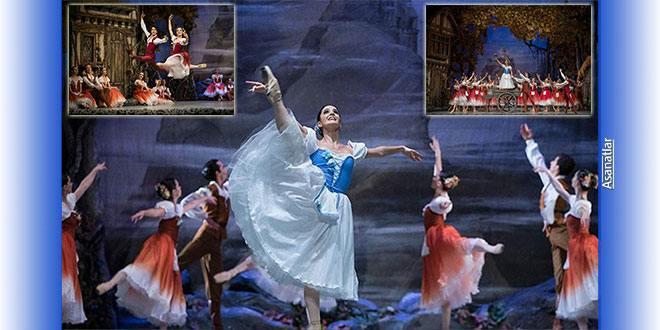 Giselle Balesi Ankara Opera Sahnesi'nde