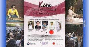 Kore Geleneksel Müzik ve Dans Gösterisi