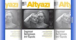 Altyazı Sinema Dergisi Temmuz-Ağustos 2018