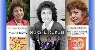 Nursel Duruel'e Mersin Kenti Edebiyat Ödülü