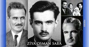 Ziya Osman Saba Vefat Yıldönümünde Anıldı