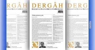 Dergâh Dergisinin Nisan 2020 Sayısı