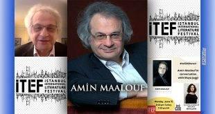 Amin Maalouf İstanbul Edebiyat Festivalinde