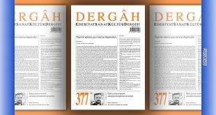 Dergâh Dergisinin Temmuz 2021 Sayısı